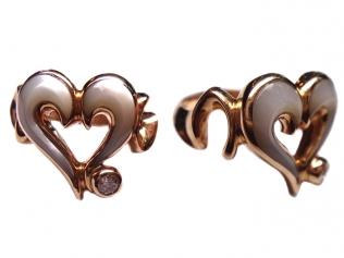 Золотое кольцо с перламутром -